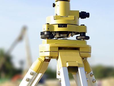 Żółte urządzenie do pomiaru odległości